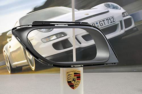 NEU+ORIG. Porsche 911 991 Turbo Blende/Gitter Endrohr RECHTS/Stoßstange hinten