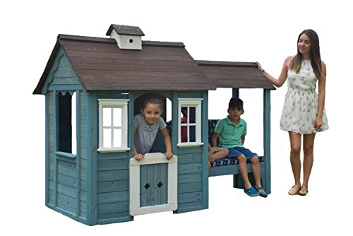 Product Image of the Sportspower Wooden Playhouse