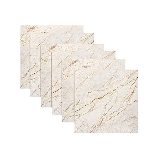 BLOUR 6pcs Fliesen Mosaics Fliesen Aufkleber Küche Badezimmer Persönlichkeit Anti-Fliesen Aufkleber 20X20CM PVC wasserdichtDekorWandaufkleber# 25
