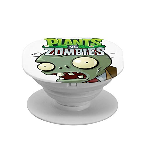 Plants Vs. Zombies Cell Phone Foldable Expanding Stand Holder Phone Round Stand and Grip Folding Pop Up Back Stand Universal Phone Mount,Collapsible Grip & Stand for Phones and Tablets