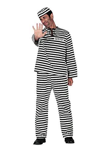 Wilbers Federbein Herren EU 60/UK und US 50Gefangene Kostüm