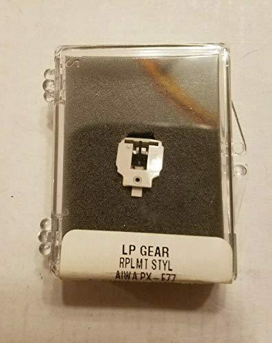 LP Gear - Cartucho de aguja para placa giratoria Aiwa PX-E77 PX E77 PXE77