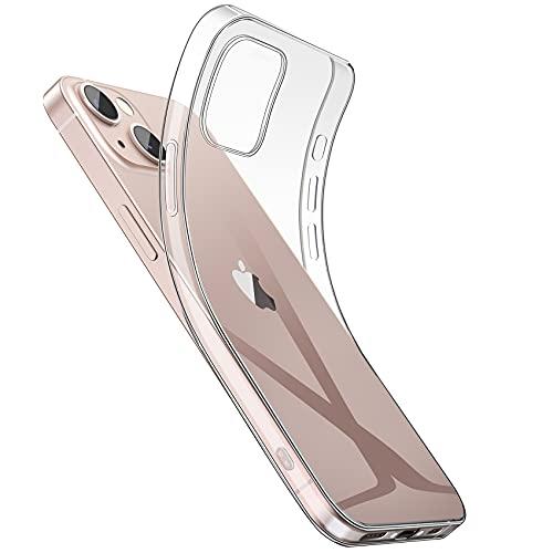 NIMASO ケース iPhone 13 mini 用 軽量 ケース ソフト 全面クリア TPU カバー ベーシック シリーズ 5.4インチ用 NSC21H316