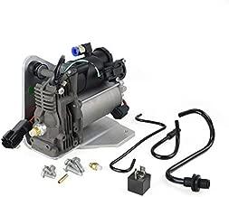 LR015303 Air Suspension Compressor Pump & Relay (AMK Style) for La-nd Ro-ver LR3 2005-2009 / LR4 2010-2014 / Range Rover Sport 2006-2013 LR023964 GELUOXI
