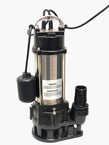 Heavy Duty Sewage Pump with Float Switch