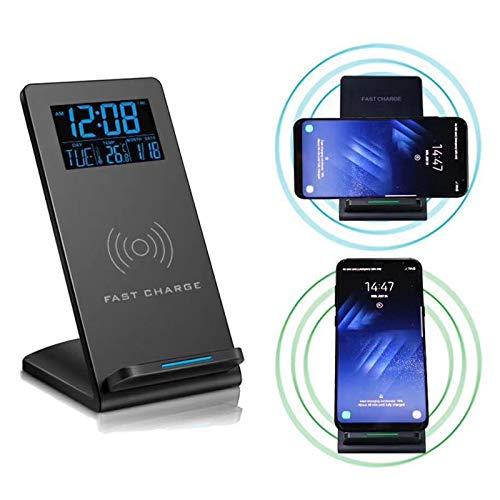 TWH Cargador inalámbrico de teléfono móvil magnético inalámbrico para coche