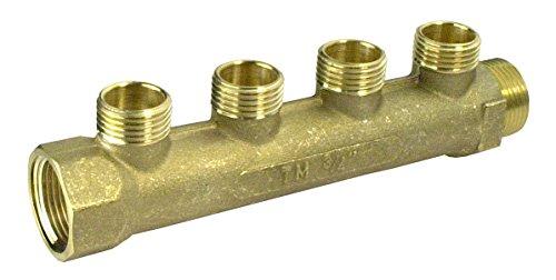Cornat Verteiler 3/4 Zoll Abgang 4 x 16 mm, T620012