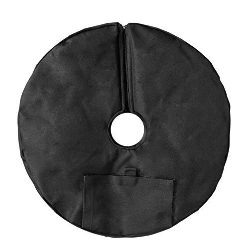 Soporte Base Paraguas Bolsa de Peso de la Base de la Base de la Base de la Base de la Base del Paraguas de la sombrilla del Sol al Aire Libre