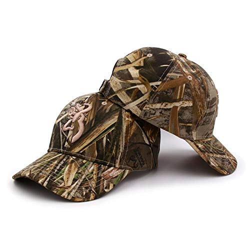 Outdoor Camping Hunting Camouflage Cap Baseball Cap Browning Baseball Cap Fishing Caps Men Outdoor Hunting Camouflage Jungle Hat Airsoft Tactical Hiking Camo Casquette Hats