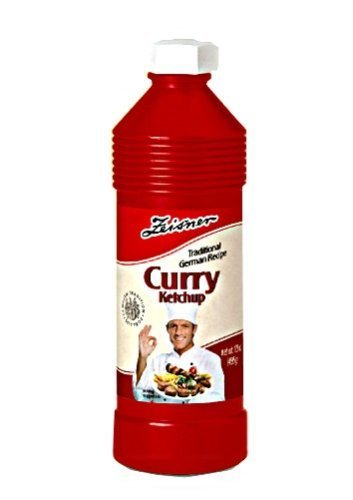 Zeisner Curry Ketchup 17.5 ounce by Ziesner