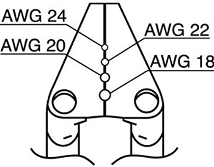 Hakko Wire Stripper Blade Long 18 24 Awg Aligned Pair