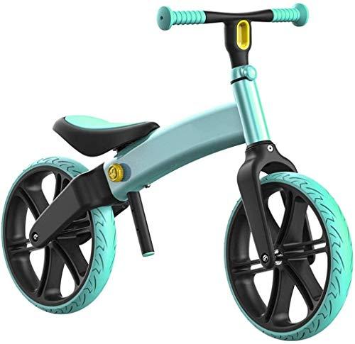 TQJ Cochecito de Bebe Ligero Bicicleta de Equilibrio Ligero Ligero Balance de niños Sin Pedal Bicicleta Bebé Deslizando YO Coche 3-6 años (Color : #1)