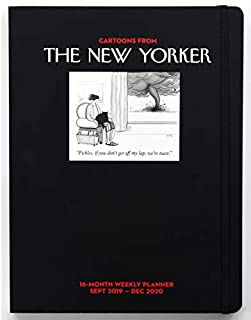 Cartoons from The New Yorker 16-Month 2019-2020 Weekly Planner Calendar: Sept 2019-Dec 2020 (1449497675) | Amazon price tracker / tracking, Amazon price history charts, Amazon price watches, Amazon price drop alerts