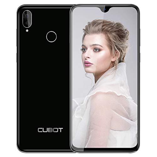 Teléfono Móviles (2020), CUBOT R15 Pro Smartphone Libres, Pantalla Completa de 6.26 Pulgadas, 3GB RAM +32GB ROM,Android 9.0, Cámara 16MP+13MP,4G Dual SIM,Móvil Libre 128GB TF Ampliable, Tipo C-Verde