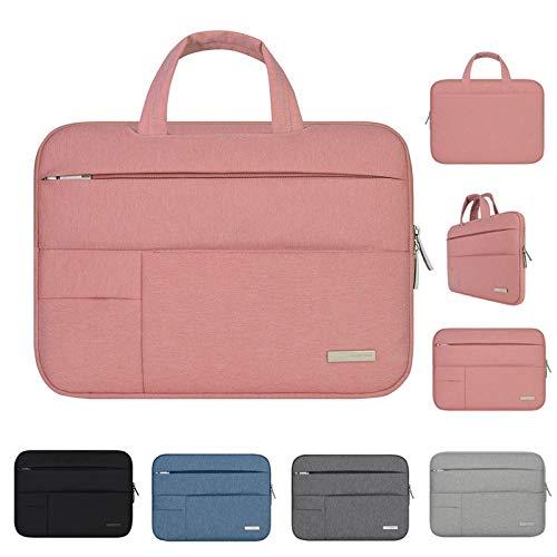 QiuKui Tab Cover 11 12 13 14 15 15.6 inch Laptop Bag For Dell Asus Lenovo HP Acer, Handbag Tablet Bag Sleeve Case For Macbook Air Pro Notebook (Farbe : Blue, Größe : 15 inch)