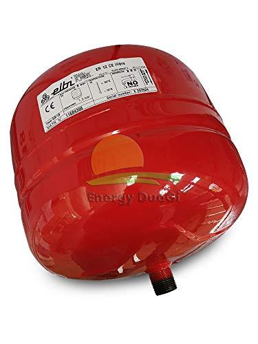 ELBI A102L20 Vaso de expansión para calefacción er-12 CE, Azul, Rojo y Blanco