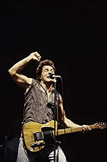 Bruce Springsteen performing during The Born in the USA Tour Photo Print (8 x 10)