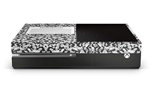 Design Aufkleber Skin Vinyl Schutzfolie kopatibel mit Xbox One Notizbuch