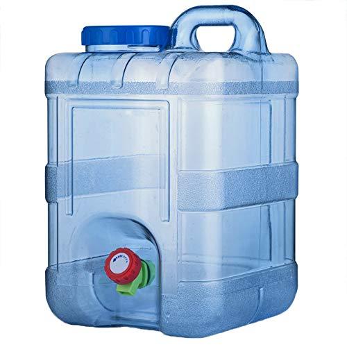 outdoor product Kampierender quadratischer Plastikwasserbehälter 15L im Freien,Tragbarer Reiseauto-Wasserspeichereimer Notwasserspeicher mit Wasserhahn ,Trinkwasserspeichereimer