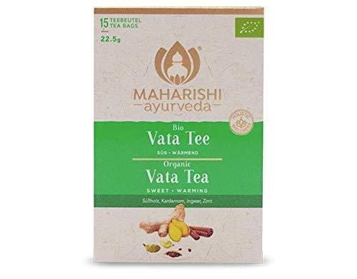 Maharishi Ayurveda Vata Tee (Bio) Gewürztee, Chai, 15 Beutel, 22,5 g, ökologisch
