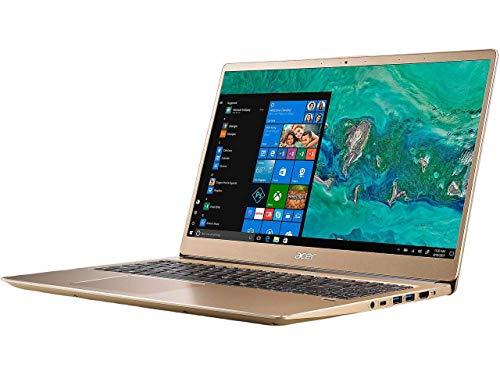 Acer Swift 3 SF315 Laptop: Core i7-8550U, 256GB SSD, 8GB RAM, 15.6' Full HD IPS Display, Windows 10 (Luxury Gold) (Renewed)