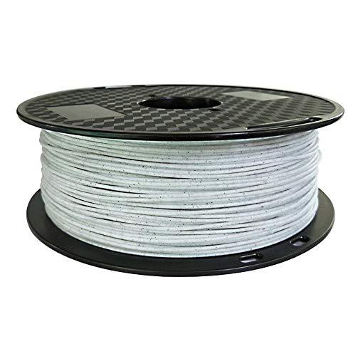 without KF-3D, 3d printer PLA filament Marble PLA 1.75mm 1KG (Color : Marble pla)