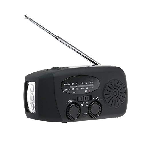 Hammer Altavoz - Radio FM portátil MP3, con Linterna LED