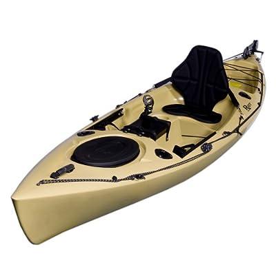 Riot Kayaks Escape 12 Angler Sit-On-Top Flatwater Fishing Kayak (12-Feet)