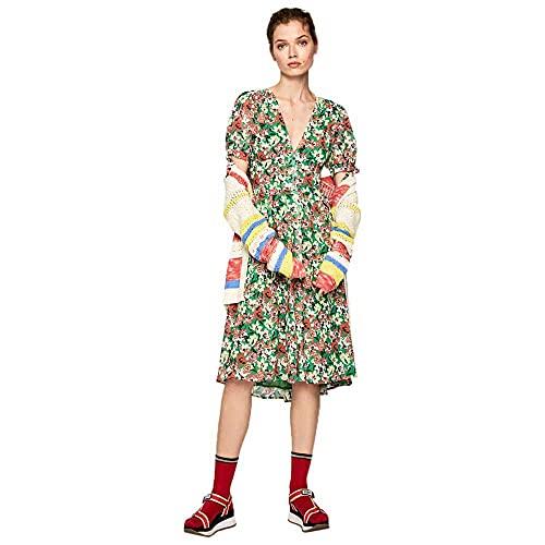 Pepe Jeans - Aurelie - PL952646 - Vestido Estampado Floral - para Mujer (XS)