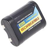 AccuCell - Batería para 2CR5 (Ion de Litio, Tipo 2-CR5, 2CR5M)