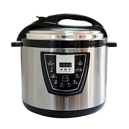 XIAOFEI Kocher Elektrische Schnellkochtöpfe Schleppend Kocher Sofortig Topf Hält Essen Heiß Multi. Funktionen Elektronisch Multifunktions Kochen Topf 8 Liter