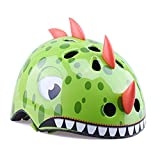VCOROS Kids Bike Helmet Multi-Sport Helmets for Cycling Skateboard Scooter Skating Roller Blading Protective Gear Suitable 3-6 Years Old. (Green Dragon, S (50-54cm)/ 19.6'-21.3')