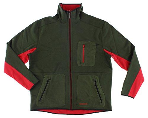 Adidas Mens Adventure Bonded Reversible Track Jacket Army Green M