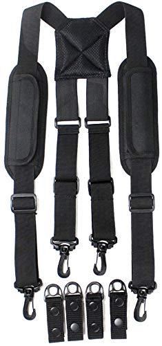 Sincerities Men Police Duty Belt Suspenders Law Enforcement, Tactical Duty Belt Harness for Duty Belt