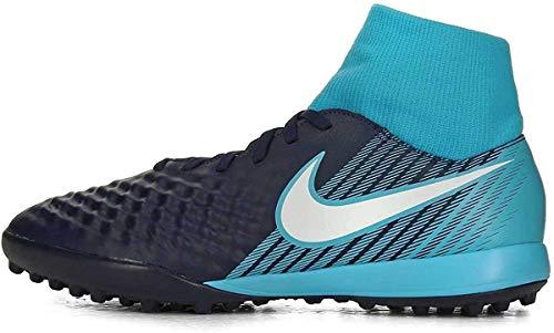 Nike Herren Magista X ONDA II DF TF 917796 Fußballschuhe, Blau (Obsidian Blau/Weiß-Gamma Blau-Gletscher Blau 414), 44.5 EU