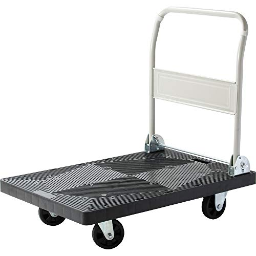 アイリスプラザ 台車 業務用台車 折りたたみ 軽量 静音 耐荷重 300kg