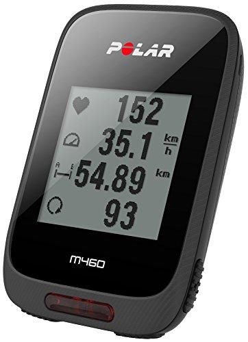 POLAR(ポラール) 【日本正規品/日本語対応】GPSサイクルコンピュータ M460 (GPS内蔵) 90064756 ブラック