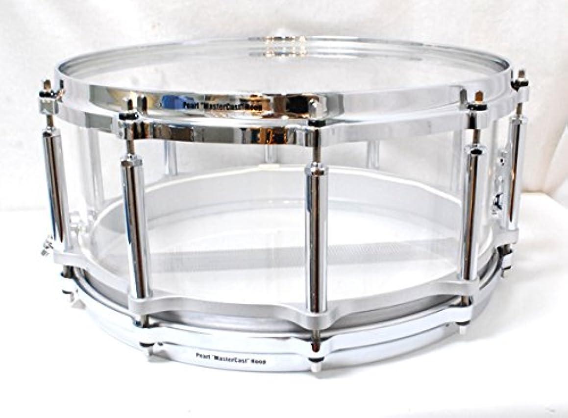 火傷アリス甘味Pearl FCRB1465 CRYSTAL BEAT ULTRA CLEAR #730 14x6.5 パール クリスタルビート スネアドラム