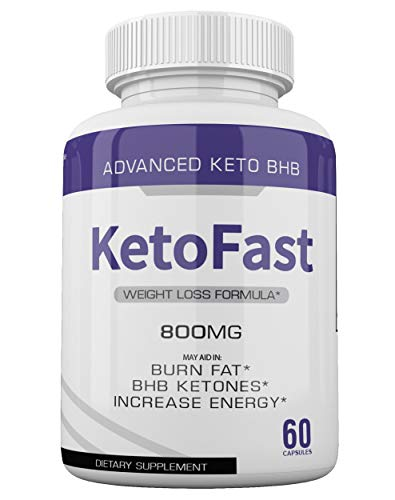 (2-Pack) Keto Fast Diet Pills BHB Advanced Ketogenic Keto Fast Burn Ultra Weight Management Capsules 700mg Pure Keto Fast Supplement for Energy, Focus Boost Exogenous Ketones for Rapid Ketosis 4