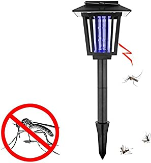 Lámpara solar LED UV anti-mosquitos, mata