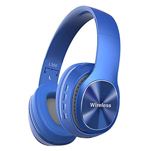 Kabelloses Headset Bluetooth 4.1 Stereo OverEar Faltbare Kopfhörer Eingebautes Mikrofon(Blau)