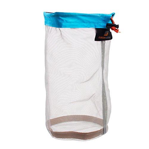 Pixnor Ultra Light Stuff Sack Storage Bag per Tavel Camping 11 x 4.72 pollici