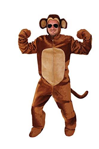 Affe offen Kostüm Einheitsgrösse L-XL Fasching Karneval Junggesellenabschied Gorilla