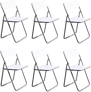 Chaise Longue de Jardin Chaises de Jardin Chaise Longue Pliable Dossier en Plastique Pliant Chaise de siège, Chaise de Tab...
