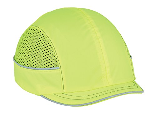 Safety Bump Cap, Baseball Hat Style, Comfortable Head Protection, Micro Brim, Skullerz 8950