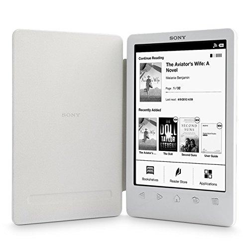 Sony Reader (PRS-T3/WC). Weiß: Kompakter und sehr leichter E-Book Reader mit integriertem Einband