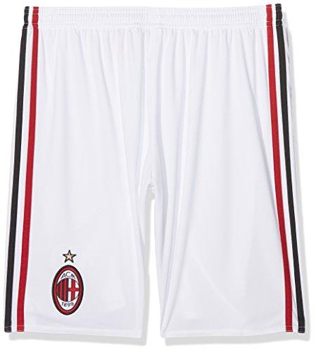 adidas AC Milan Home/Away Replica Player, Pantaloncini Bambino, Bianco/Victory Red/Nero, 910A