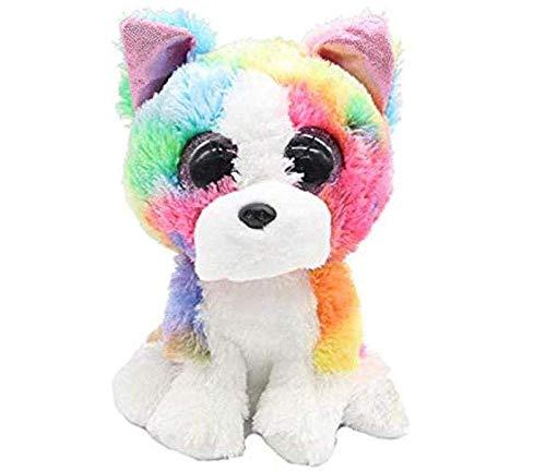grote ogen 15cm kleurrijke pluche huskies hondenspeelgoed voor kinderen en meisjes