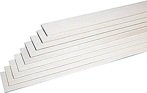 Graupner Balsa-Brettchen (L x B x H) 1000 x 100 x 1.5mm 10St.