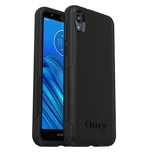 OtterBox Commuter LITE Series Case for Moto e6 - Retail Packaging - Black
